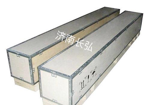 济南出口钢边箱介绍如何安全使用钢边箱